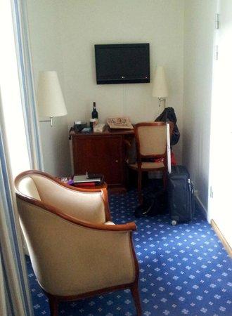 Grand Hotel: Rommet var utstyrt med TV