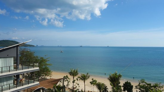 Beyond Resort Krabi: View from reception