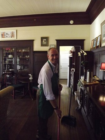 Coombs House Inn: Scott one of the innkeepers...so nice.