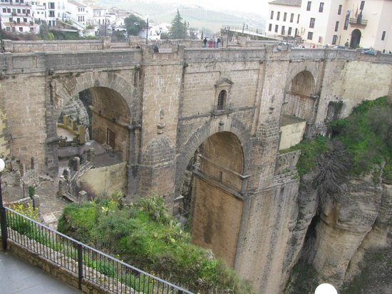 Parador de Ronda: The Bridge over the Gorge