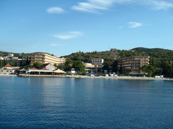 Remisens Hotel Albatros: View of hotel from the boat