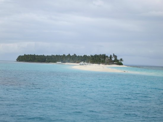 Malapascua Island, Filippinerne: approaching the island