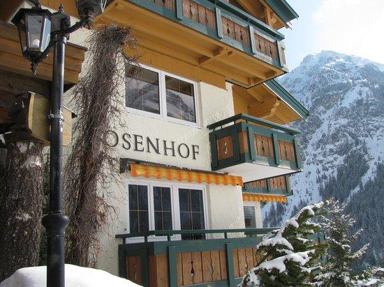Der Kleinwalsertaler Rosenhof: Een hotel op een mooie plek