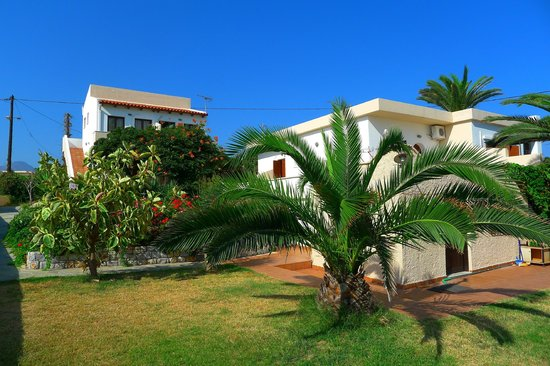 Anavaloussa Apartments: La résidence