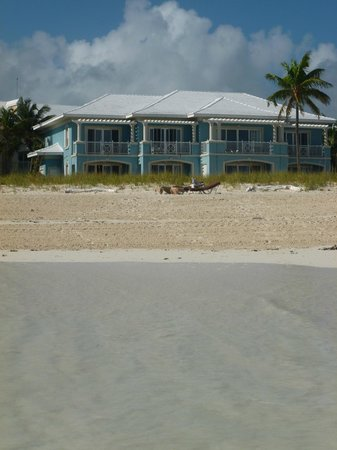 Sandals Emerald Bay Golf, Tennis and Spa Resort: View of our room from the beach