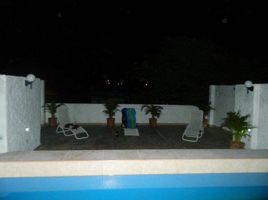 El Escudero Lodge: terraza