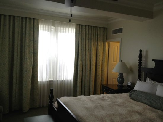 The Inn at Pocono Manor: One of the Large Windows in Our Room