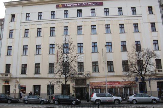 View from room photo de clarion hotel prague city for Prague city hotel