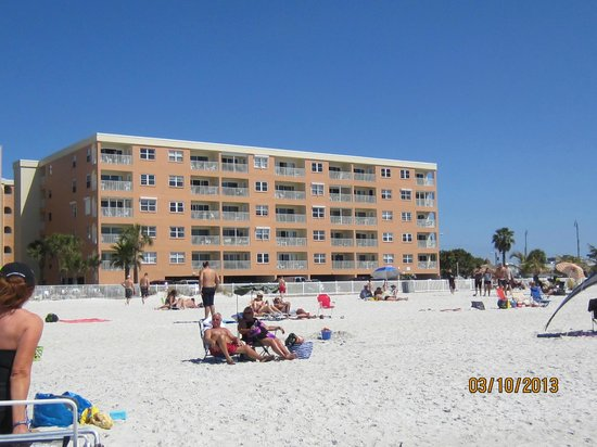 Beach Place Condos at John's Pass Village: Beach Place Condos, 1BR and 3BR units, beachfront