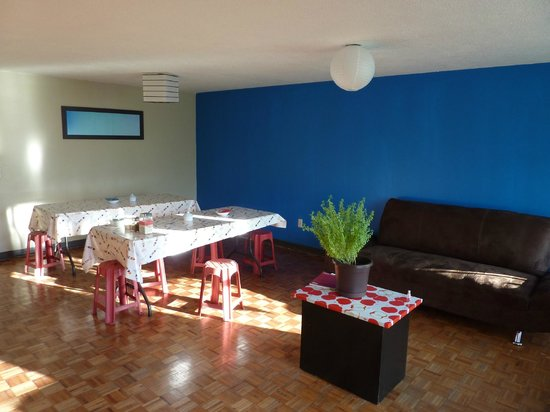 Bed and Breakfast Mexico: Salle Commune