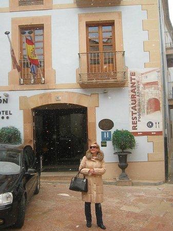 Hotel Rural Vado del Duratón: Hotel entrance