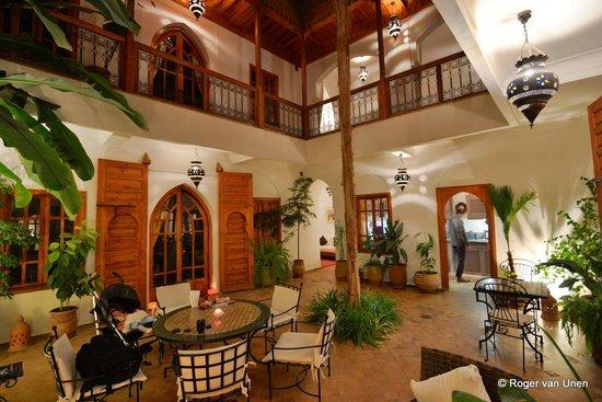 Riad Irene : De binneplaats