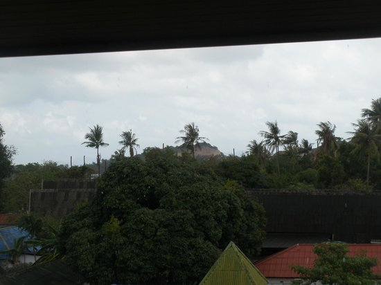 D Varee Diva Avenue Samui: desde el balcon de la habitacion