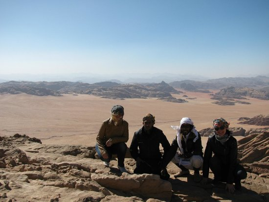 Bedouin Traditions Camp: climbing