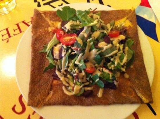 Paris Crepes Cafe: Galette sarrazin