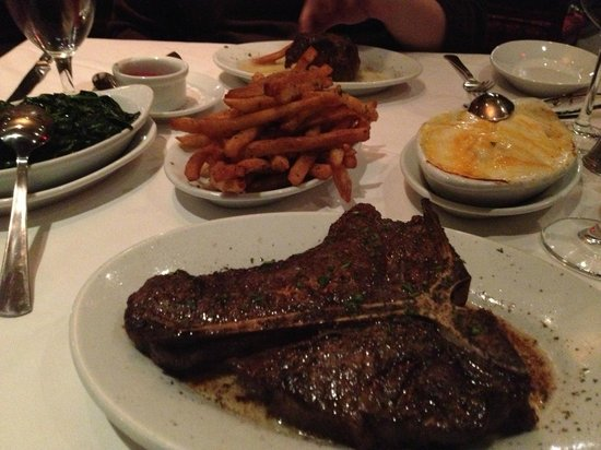 Ruth S Chris Steak House And French Fries