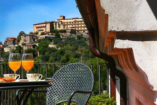 Villa Euchelia Resort: panorama dal balcona