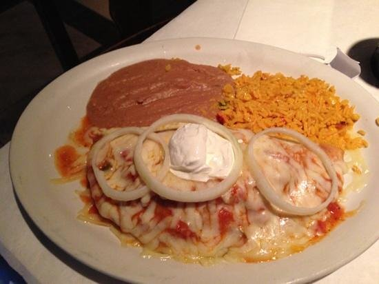 Miguel's Mexican Restaurant: chimichanga