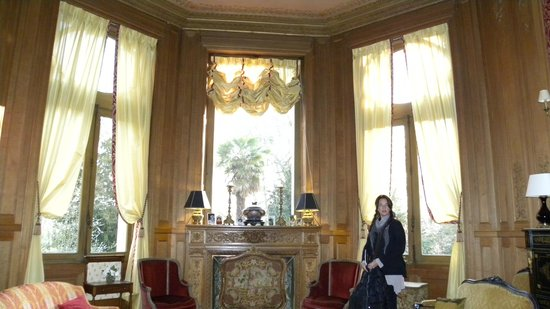 Chateau De Verrieres: SALON COMEDOR DE LA PROPIEDAD