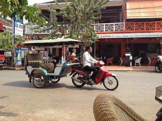 Victoria Angkor Resort & Spa: tutuk