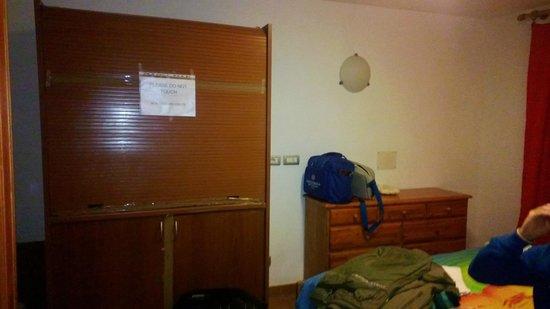 Hotel Roma Claviere: camera
