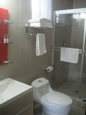 Metro Hotel Panama: Bathroom