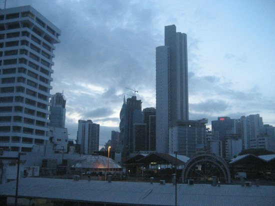 Metro Hotel Panama: View from the room