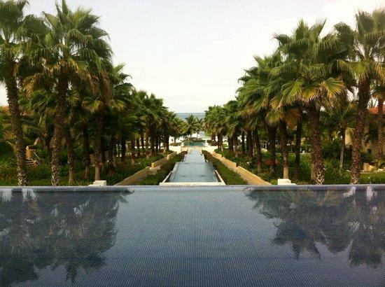The St. Regis Punta Mita Resort: view from the lobby