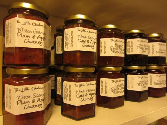 Wiston Granary: Local produce