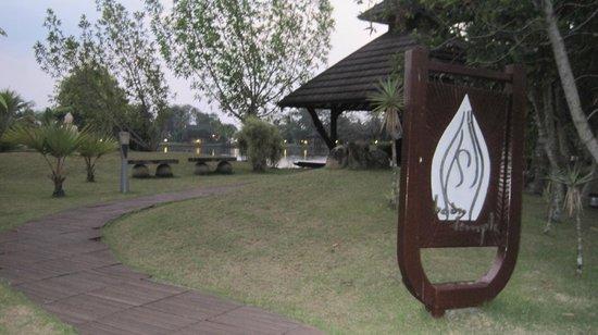 The Zuri Kumarakom: peaceful yoga area