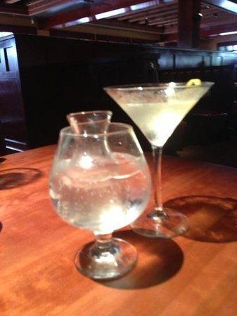 J Alexander's: pear martini