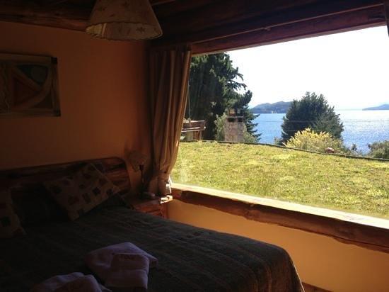 Cabanas La Deseada: vista desde el dormitorio