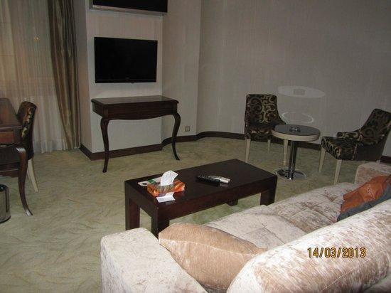 Amethyst Hotel Istanbul: altro lato vista camera