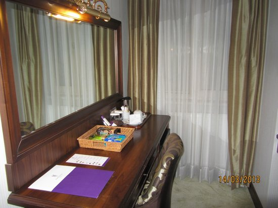 Amethyst Hotel Istanbul: consolle