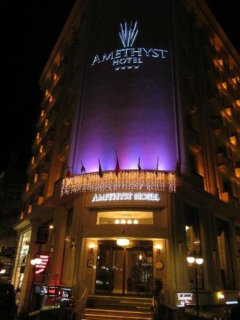 Amethyst Hotel Istanbul: facciata hotel