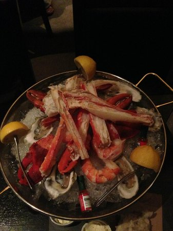 J.Gilbert's Wood-Fired Steaks & Seafood: Tower of Seafood