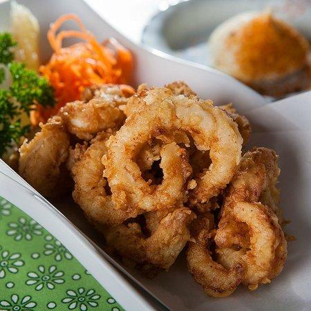 Sushi Wave Authentic Japanese: australian calamari karaage