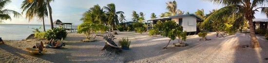 Manihi, Fransk Polynesia: jardin