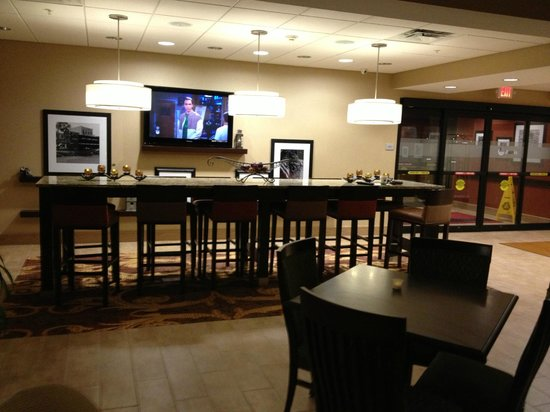 Hampton Inn Brockport: Lobby
