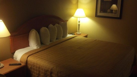 Quality Inn and Suites: bedroom