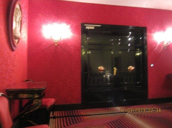 Hotel Negresco: im 5. Stock