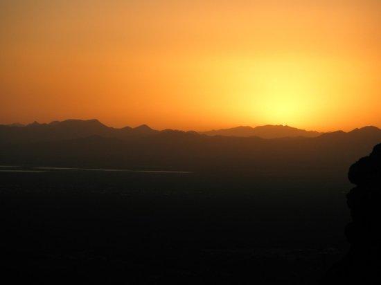 Sunset at Gates Pass, Tucson, Arizona