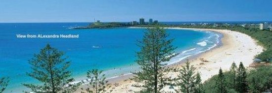 Alex Beach Cabins & Tourist Park: View from Alexandra Headland