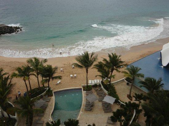 La Concha Renaissance San Juan Resort: Ocean view.