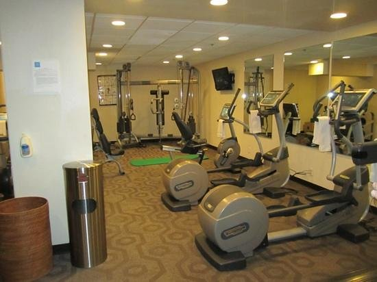 The US Grant: fitness center