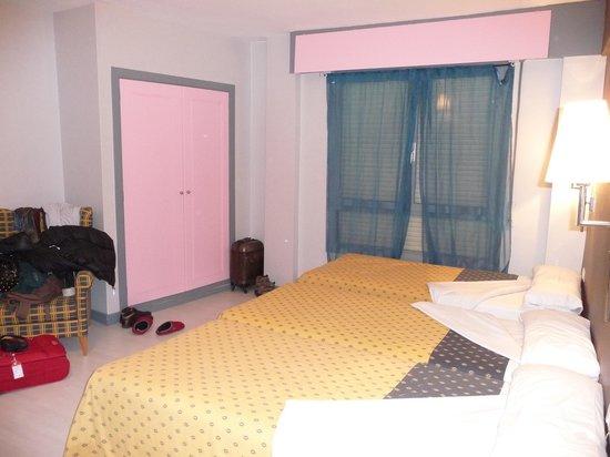 Hotel Bilbi: habitacion