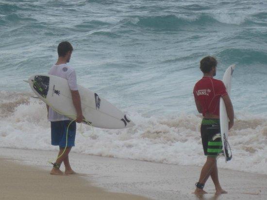 Kalani Hawaii Private Lodging: Brazilian surfers
