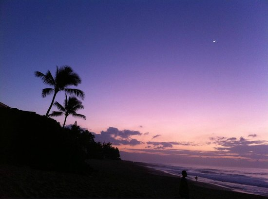 Kalani Hawaii Private Lodging : Pipe sunset