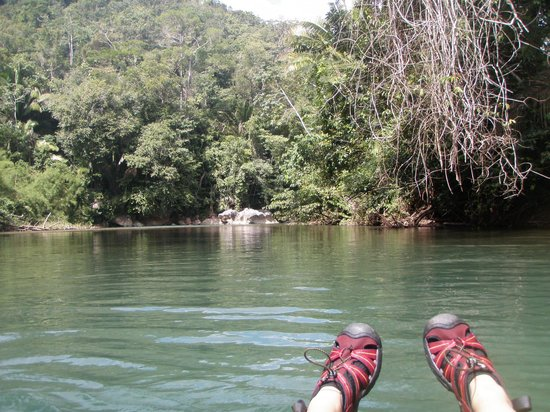 Caves Branch Outpost: grippy shoes