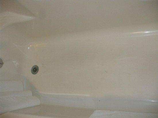 La Quinta Inn San Antonio I-35 N at Toepperwein: Gross bathtub
